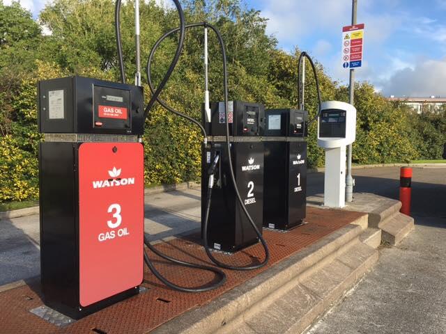3 x Watson pumps