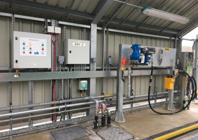 3x Traffic light systems and control panel, underground smart flex pipe transition to steel, Electrical systems