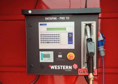 Datapak Pro 70 control panel