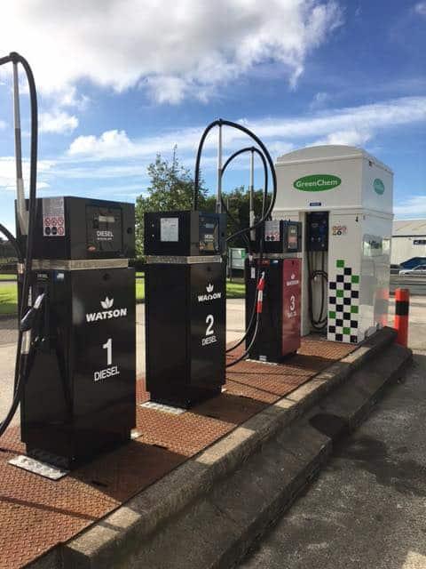GreenChem plus 2 x Watson Pumps