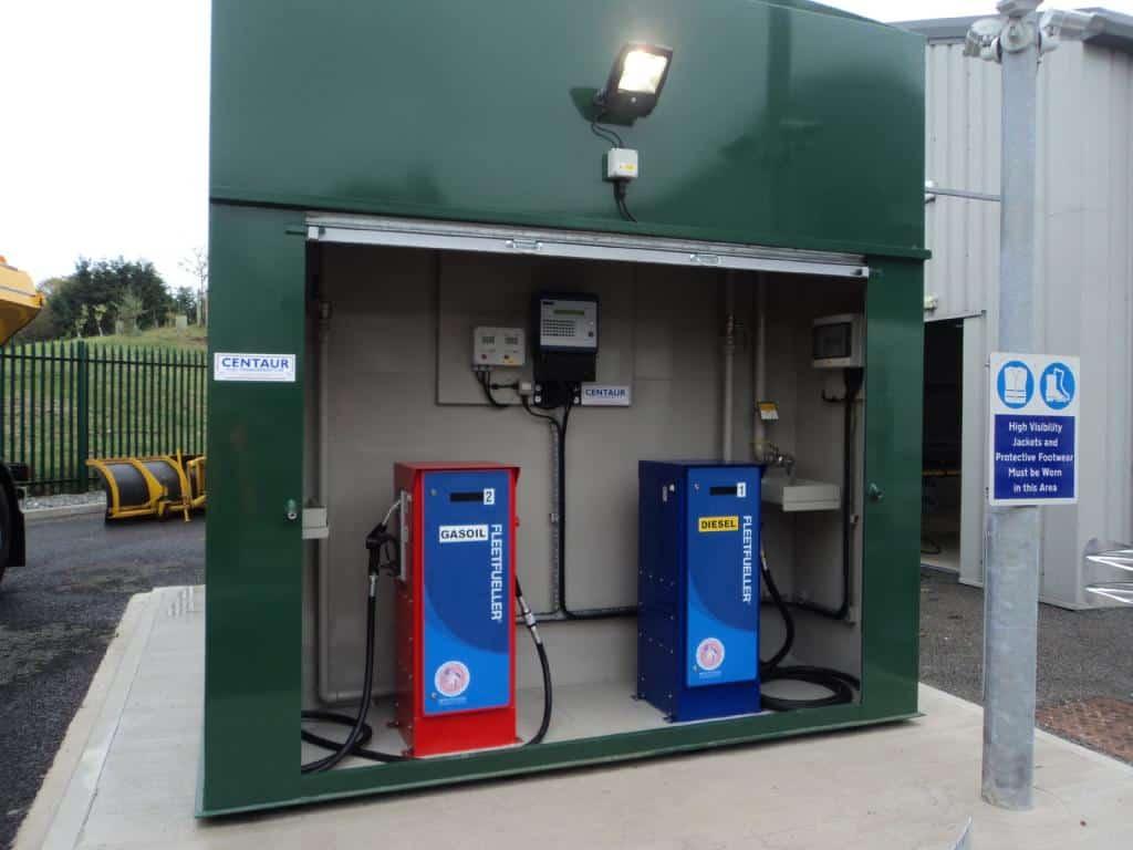 Notts CC fuel tank