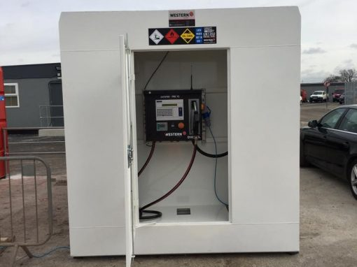 Western control panel plus enclosure