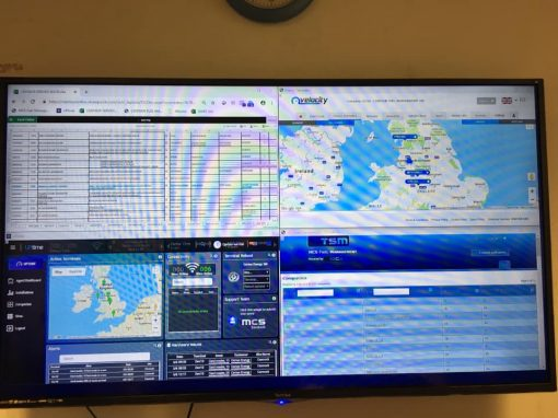 Uptime system monitoring on Large Screen